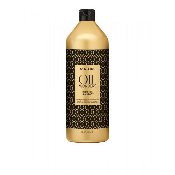 Sampon cu ulei de argan Matrix Micro Oil 1L