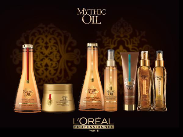 Sampon cu ulei de argan pentru par gros L'Oreal  Mythic Oil, 250 ml. pentru par gros