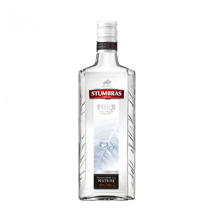STUMBRAS VODKA PURE 0.7L 40